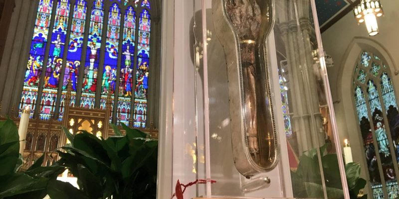 Entangled Worlds, through the prism of the relic of St. Francis Xavier in Toronto
